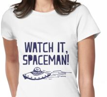 Donna and the Spaceman Womens Fitted T-Shirt