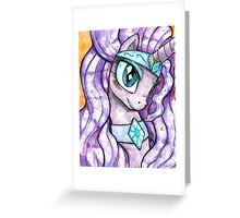 Nightmarity Face Off Omnos Cover Greeting Card