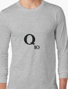 Q10 Scrabble  Long Sleeve T-Shirt