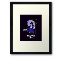 Vigor Salt Framed Print