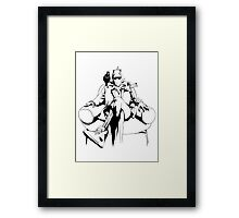 Fiddlesticks the Pimp (Shirt Version) Framed Print