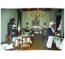 Drostdy Hotel Dining Room - Graaff Reinet, RSA Poster