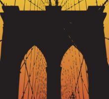 New York at Sunset Sticker