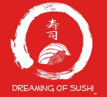 Dreaming of Sushi - Plain 2 One Piece - Short Sleeve