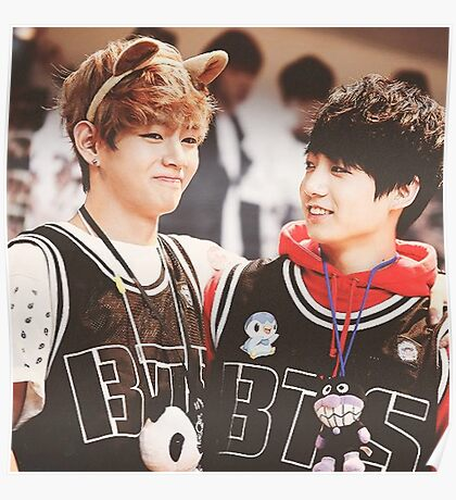 BTS - V and Jungkook Poster