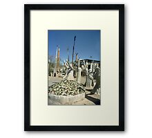 At The Owl House - Nieu Bethesda, RSA Framed Print