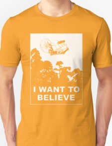 I Want To Believe in Time Machine T-Shirt