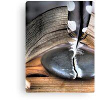 Marmorstein und Eisen bricht Canvas Print