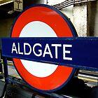 Aldgate, London Underground by northstardesign
