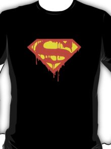Super-man Bleeding Logo T-Shirt
