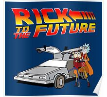 Rick and Morty To The Future Poster