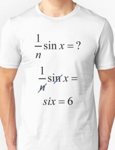 Blonde Equation Unisex T-Shirt
