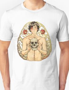 BBC Sherlock: I owe you a flower crown card T-Shirt