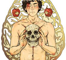 BBC Sherlock: I owe you a flower crown card by sweetlitlekitty