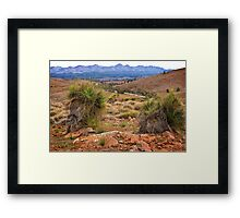 Flinders Ranges Framed Print