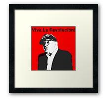 D-Trump for Prez! :^) Not Really Framed Print