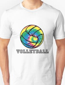 Tie Dyed Volleyball T-Shirt