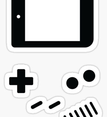 Classic Gamer Sticker