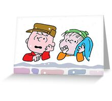 Good Grief it's Christmas Charlie Brown Greeting Card