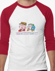 Good Grief it's Christmas Charlie Brown Men's Baseball ¾ T-Shirt