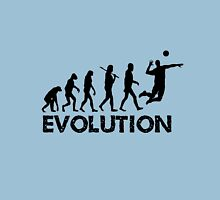 Evolution of a Volleyball Player Unisex T-Shirt