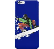 Snow Surfer iPhone Case/Skin