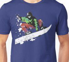Snow Surfer Unisex T-Shirt
