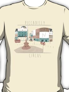 London - Piccadilly Circus T-Shirt