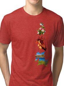 The evolved starters (johto) Tri-blend T-Shirt