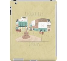 London - Piccadilly Circus iPad Case/Skin