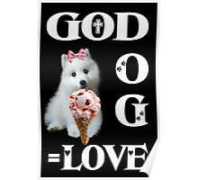 ✿♥‿♥✿GOD AND DOG = LOVE PICTURE/CARD✿♥‿♥✿ Poster