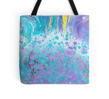 Abstract ebru background Tote Bag