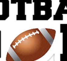 Football Dad Sticker
