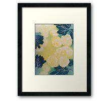 Yellow sunshine  Framed Print