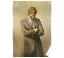 John F. Kennedy Painting  Poster