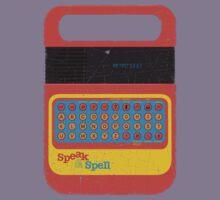 Vintage Look Speak & Spell Retro Geek Gadget Kids Tee
