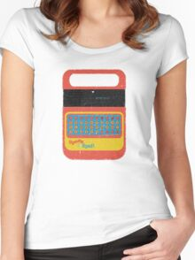 Vintage Look Speak & Spell Retro Geek Gadget Women's Fitted Scoop T-Shirt