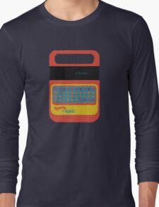 Vintage Look Speak & Spell Retro Geek Gadget Long Sleeve T-Shirt