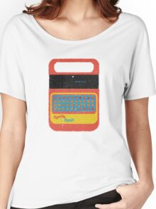 Vintage Look Speak & Spell Retro Geek Gadget Women's Relaxed Fit T-Shirt