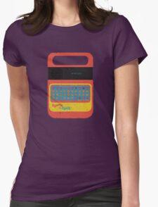 Vintage Look Speak & Spell Retro Geek Gadget Womens Fitted T-Shirt