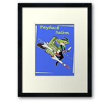 Payback Salem,  Attack of the Green Witch Framed Print