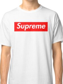 Supreme Logo Graphic Tee Classic T-Shirt