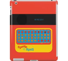 Vintage Look Speak & Spell Retro Geek Gadget iPad Case/Skin