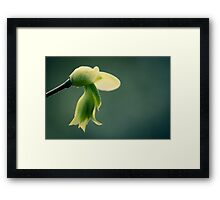 """My Blue Flower"" Framed Print"