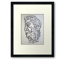 Mr Jones Framed Print