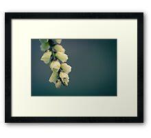 """""""My Blue Flower 2"""" Framed Print"""
