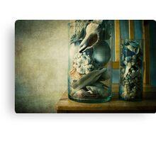 « Cabinet of curiosities » Canvas Print