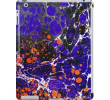 Abstract ebru background iPad Case/Skin