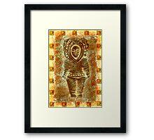 latin Sculpture Framed Print
