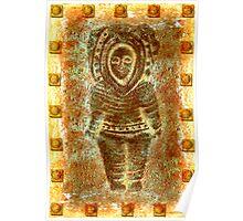 latin Sculpture Poster
